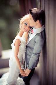 barbie and ken wedding album