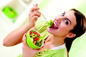 eatingsalad