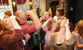drinking shots